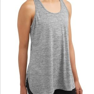 PLUS SIZE RACERBACK TANK TOP SHIRT STRETCHY LOOSE